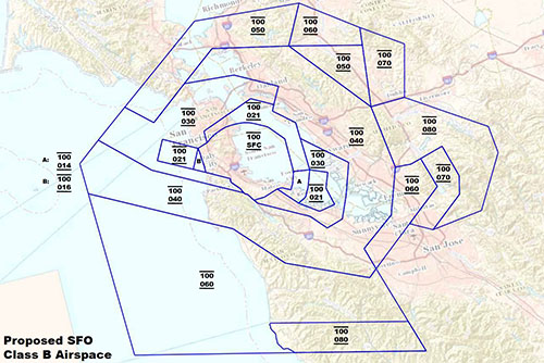 Proposed SFO Class B Airspace