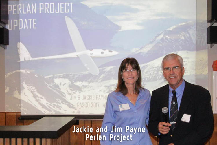 Jacke and Jim Payne from the Perlan Project