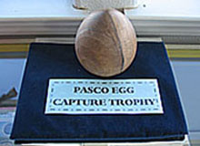 PASCO Egg Capture Trophy